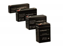 Batteries with VDS certificate