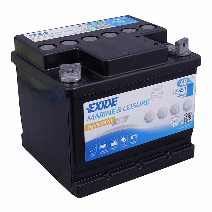 EXIDE Blei / GEL ES450 (G40) Equipment 12 V 40 Ah
