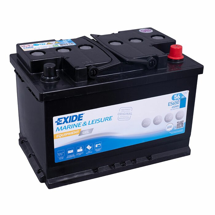 EXIDE Equipment Gel ES650 12 V 56 Ah Versorgerbatterie