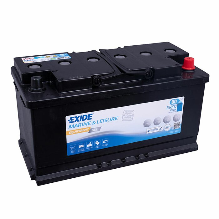 EXIDE Blei / GEL ES900 (G80) Equipment 12 V 80 Ah