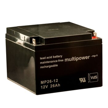 MULTIPOWER Standardtyp MP26-12 12V 26Ah AGM...