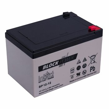 INTACT AGM Block-Power BP12-12 12 V 12 Ah