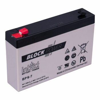INTACT AGM Block-Power BP6-7 6 V 7 Ah
