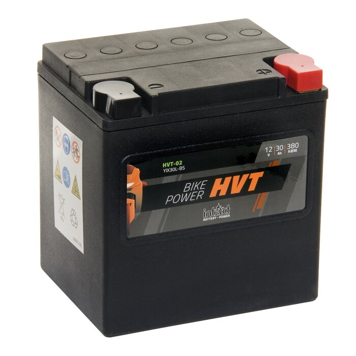 INTACT Bike-Power HVT-02 / YIX30L-BS 12V 30Ah AGM / SLA...