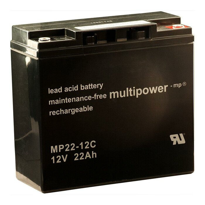 MULTIPOWER AGM MP22-12C 12 V 22 Ah