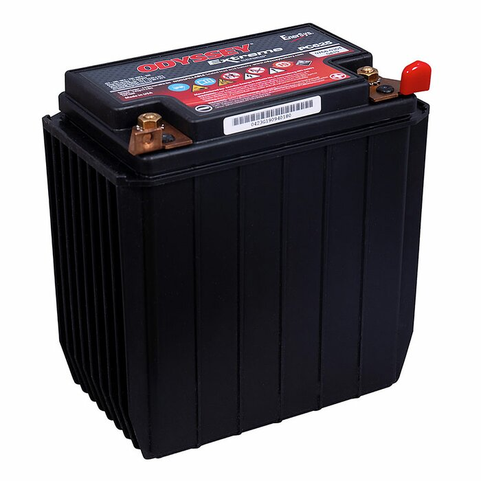 ENERSYS HAWKER AGM Odyssey Extreme PC625 12 V 18 Ah Starterbatterie