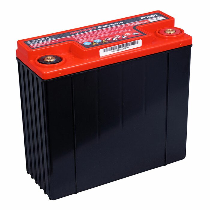 ENERSYS HAWKER AGM Odyssey Extreme PC680 12 V 16 Ah Starterbatterie