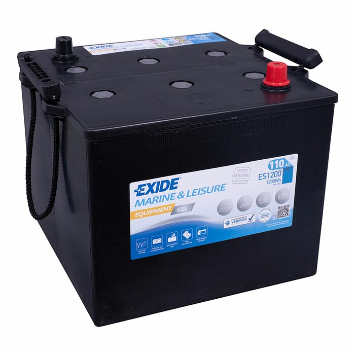 EXIDE Blei / GEL ES1200 (G110) Equipment 12 V 110 Ah