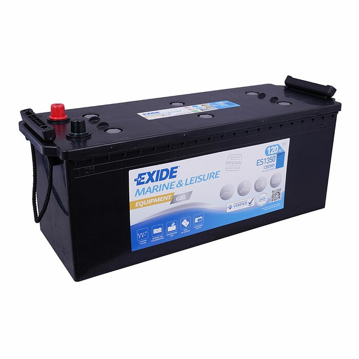 EXIDE Blei / GEL ES1350 (G120) Equipment 12 V 120 Ah
