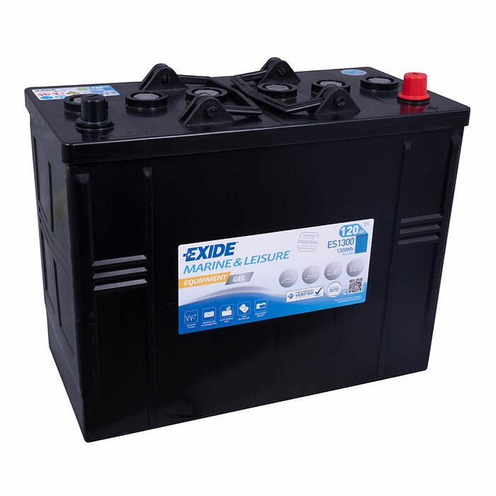 EXIDE Blei / GEL ES1300 (G120S) Equipment 12 V 120 Ah