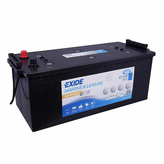 EXIDE Blei / GEL ES1600 (G140) Equipment 12 V 140 Ah