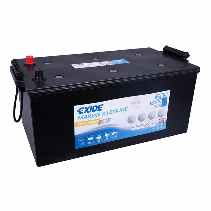 EXIDE Blei / GEL ES2400 (G210) Equipment 12 V 210 Ah