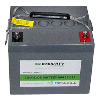 ETERNITY AGM-Blockbatterie A04 12 037 /12 V 37 Ah...