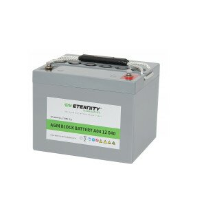 ETERNITY AGM-Blockbatterie A04 12 040 /12 V 40 Ah...