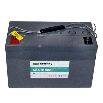 ETERNITY AGM-Blockbatterie A04 12 088 1 /12 V 88 Ah...