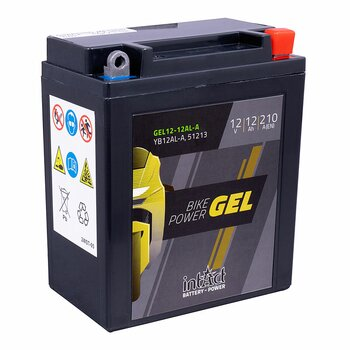 INTACT Bike Power Gel 12-12AL-A / YB12AL-A 12V 12Ah GEL...