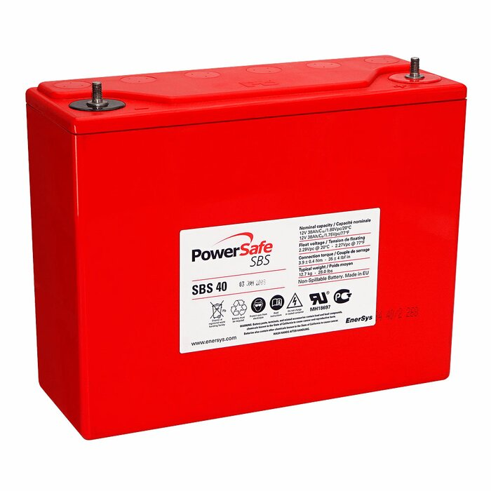 ENERSYS HAWKER PowerSafe SBS 40 12 V 38 Ah