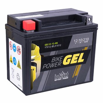 INTACT Bike-Power Gel 12-12-BS / YTX12-BS 12V 10Ah GEL...