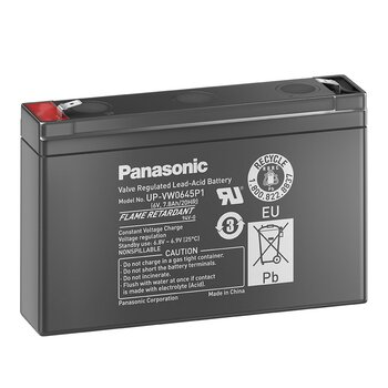 PANASONIC UP-VW0645P1 6V 45W AGM Hochstrombatterie