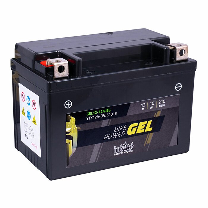 INTACT GEL Bike-Power 12-12A-BS 12 V 10 Ah