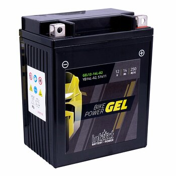 INTACT Bike Power Gel 12-14L-A2 / YB14L-A2 12V 14Ah GEL...