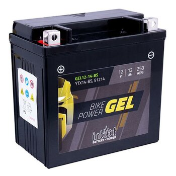 INTACT Bike Power Gel 12-14-BS / YTX14-BS 12V 12Ah GEL...