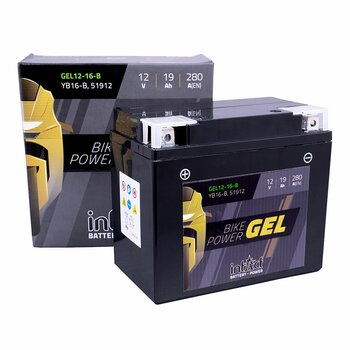 INTACT Bike-Power Gel 12-16-B / YB16-B 12V 19Ah GEL...