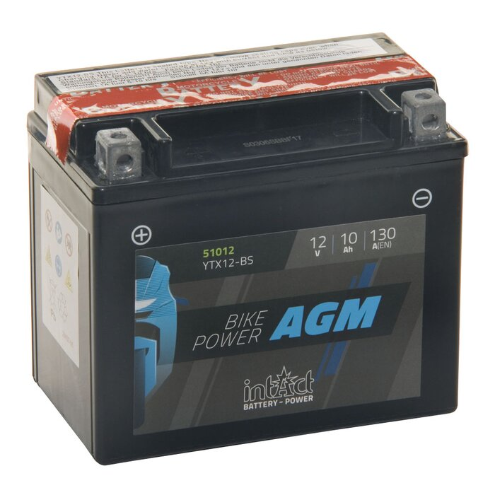 INTACT AGM Bike-Power 51012 12 V 10 Ah