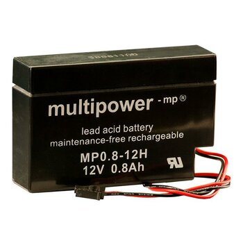 MULTIPOWER Standardtyp MP0.8-12H 12V 0,8Ah AGM...