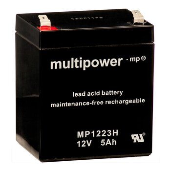 MULTIPOWER Hochstromtyp MP1223H 12V 5Ah AGM...