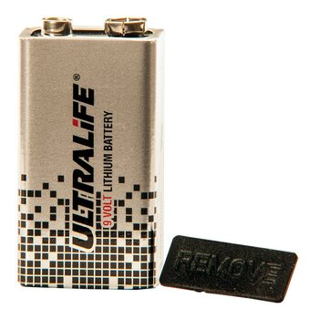 ULTRALIFE U9VLJP10 9V-Block Lithium-Batterie