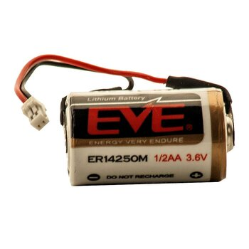 EVE 14250M with JST-connector 3.6 V 800 mAh /...