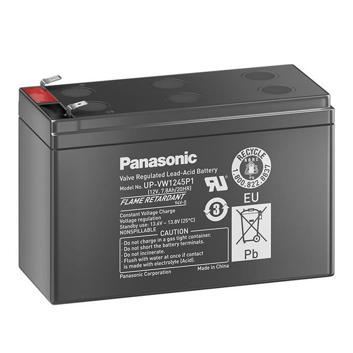 PANASONIC UP-VW1245P1 12V 7.8Ah AGM Hochstrombatterie