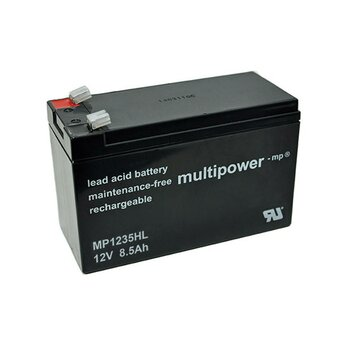 MULTIPOWER Hochstrom/Longlifetyp MP1235HL 12V 8,5Ah AGM...