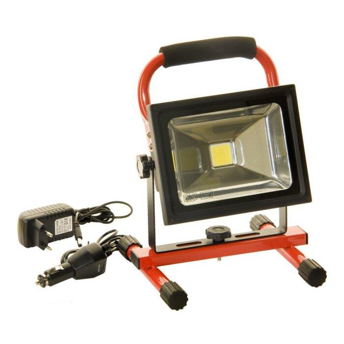 120 LED Kabellos arbeiten Licht wiederaufladbare Li-on Akku AC-DC-Ladegeräte