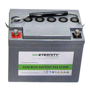 ETERNITY AGM-Blockbatterie A04 12 030 /12 V 30 Ah...