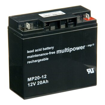 MULTIPOWER Standardtyp MP20-12 12V 20Ah AGM...