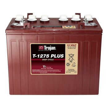 TROJAN Deep-Cycle T-1275plus 12V 120Ah (c5) lead/acid...